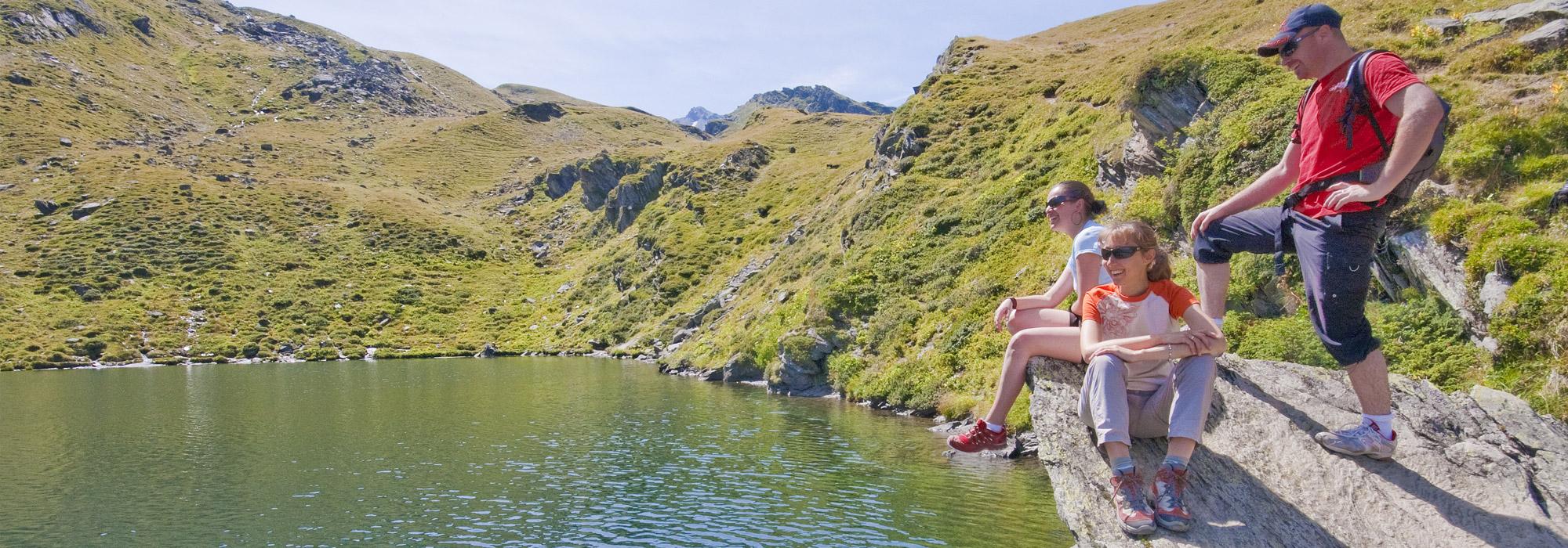 Val Thorens, paseggiare sulle Alpi durante la stagione estiva