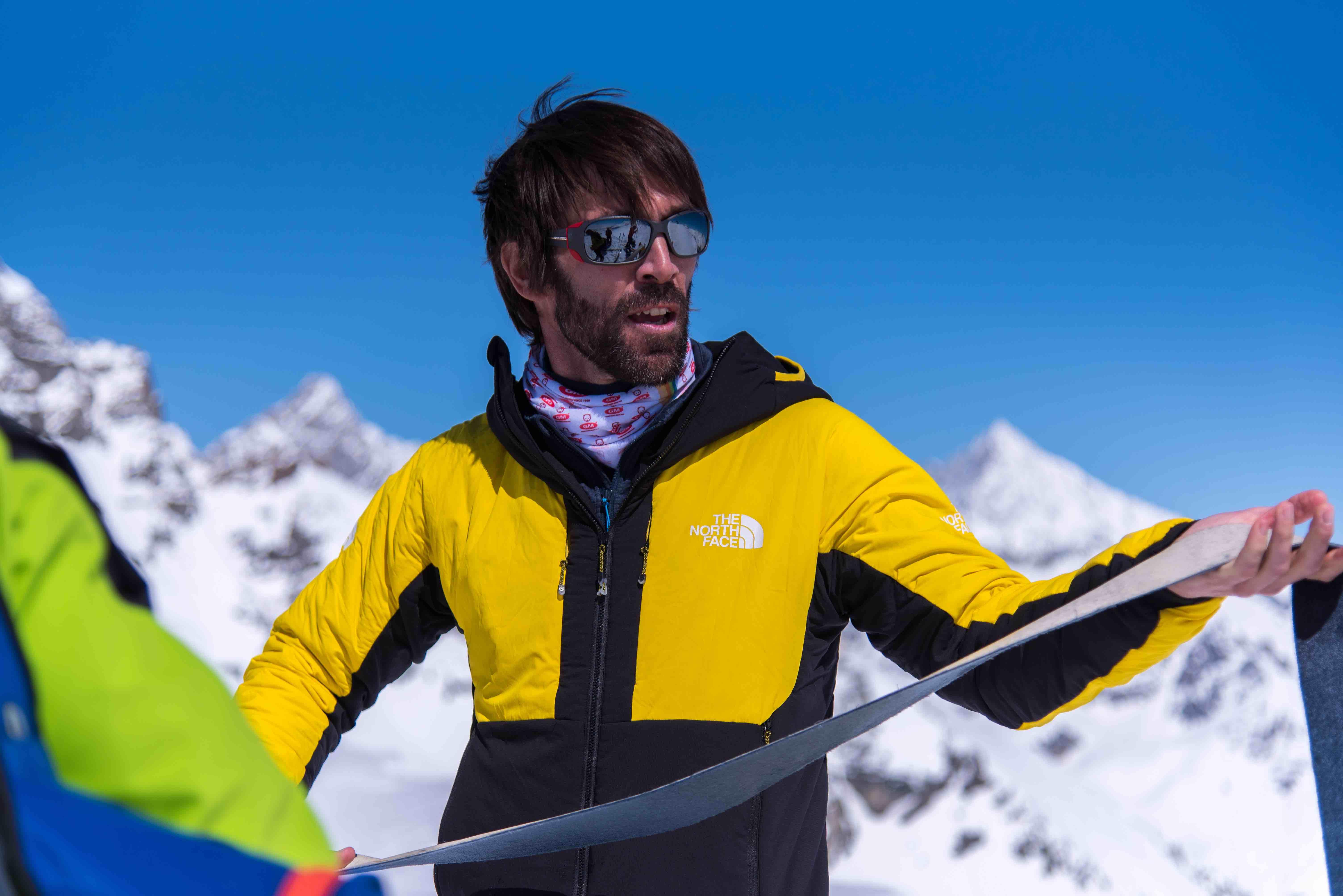 In Montagna con Hervé Barmasse: sci-alpinismo, riflessioni e amicizia