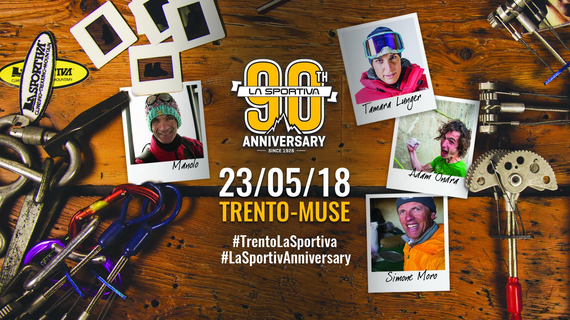 La Sportiva celebra i 90 anni con una festa al Muse di Trento