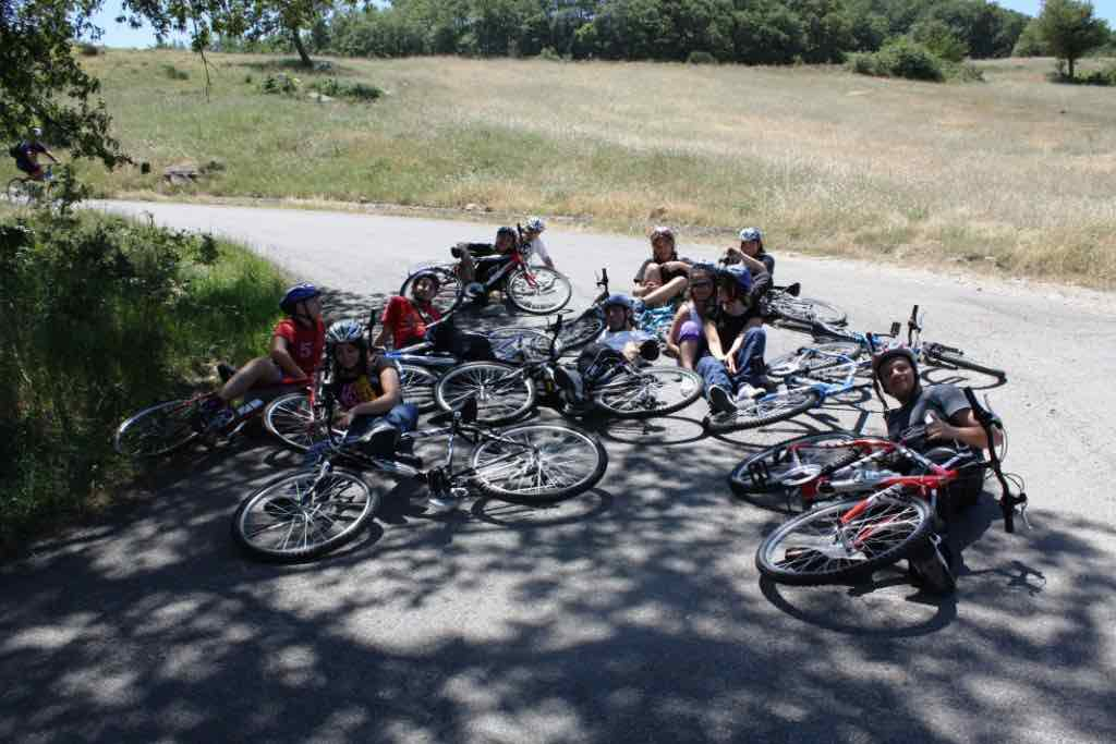 Mountainbike nel Lucania Outdoor Park