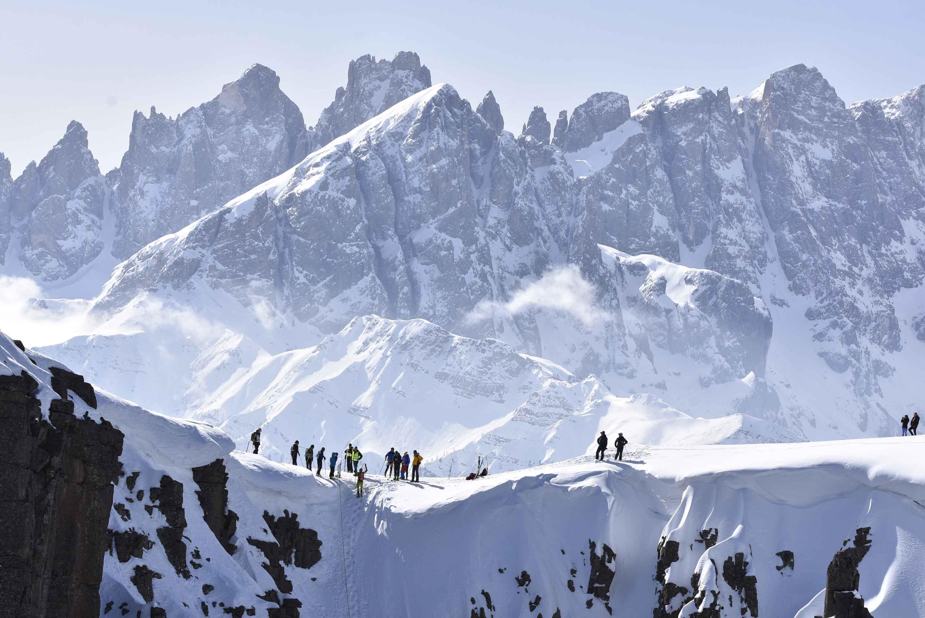 Classifica Pizolada 2019: gara di scialpinismo al Passo San Pellegrino