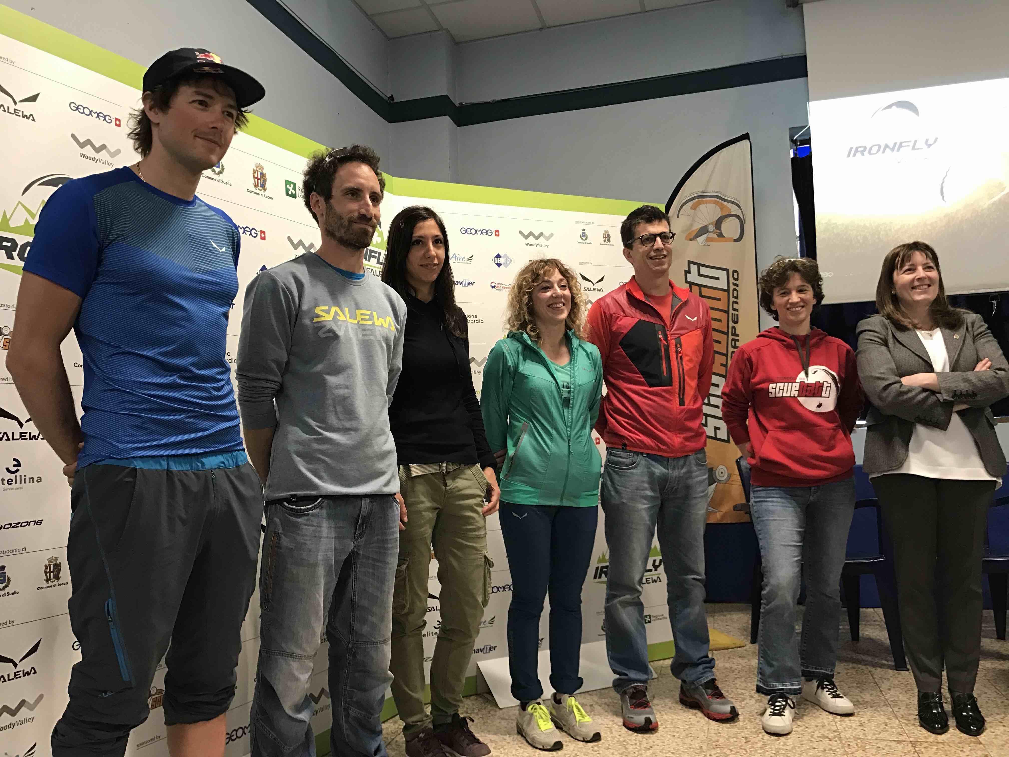 Salewa Iron Fly, conferenza stampa a Lecco