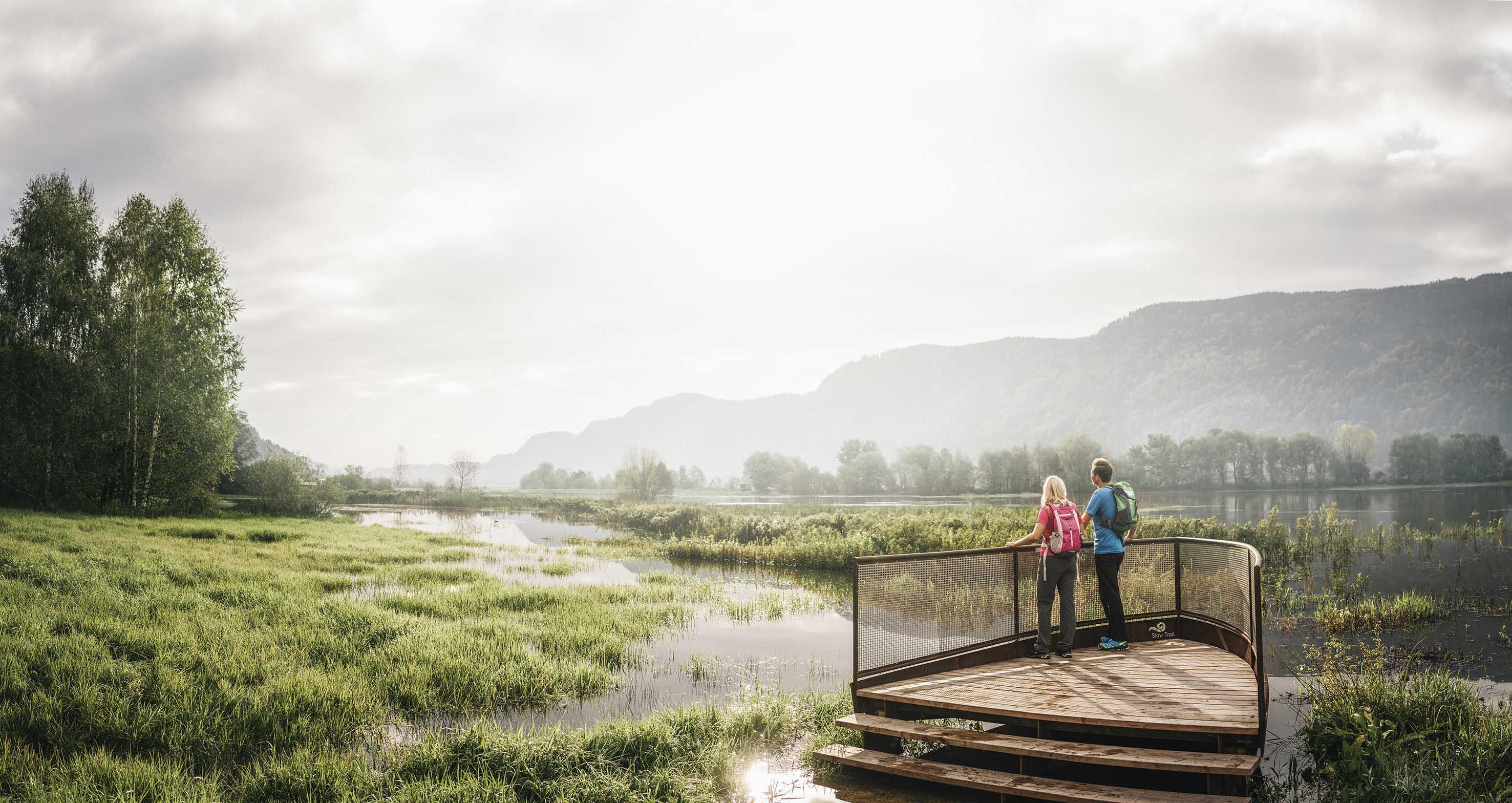 Villach Slow Trail, camminare nella natura - foto Villach Region Stefan Leitner Bleistätter