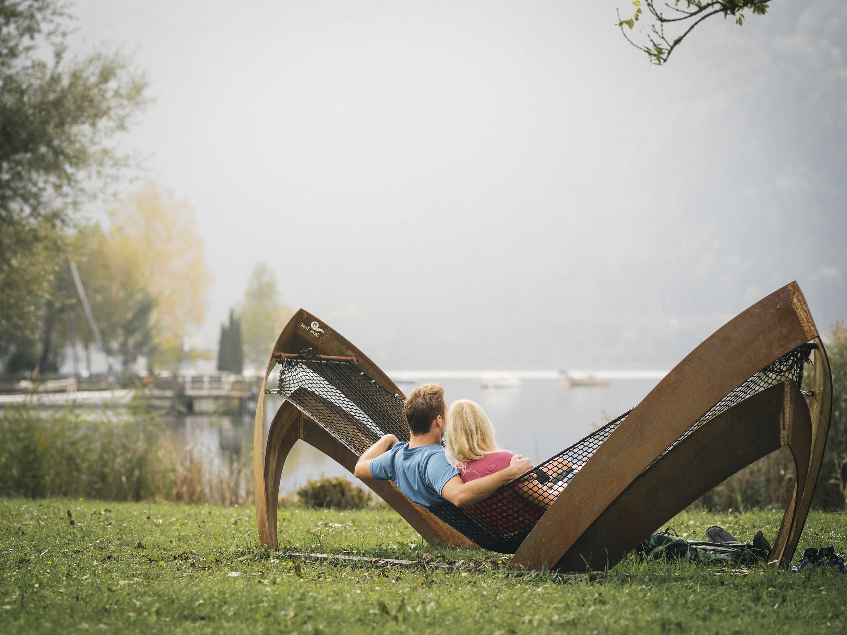 "Relax lungo il percorso Slow Trail ""Bleistätter Moor"" - foto StefanLeitner, Region Villach Tourismus"