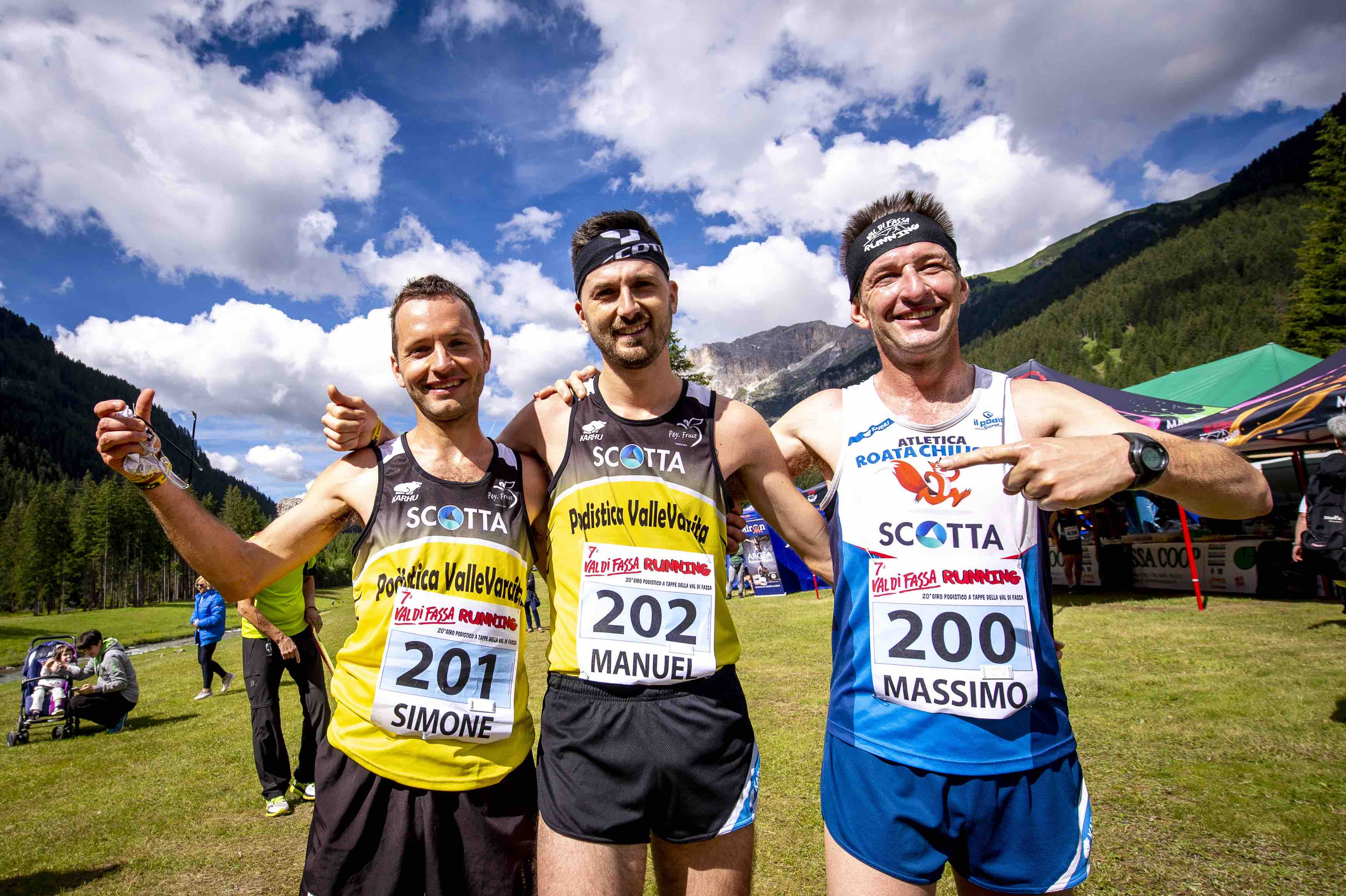 Day 1 - Podio Maschile Val di Fassa Running 2018