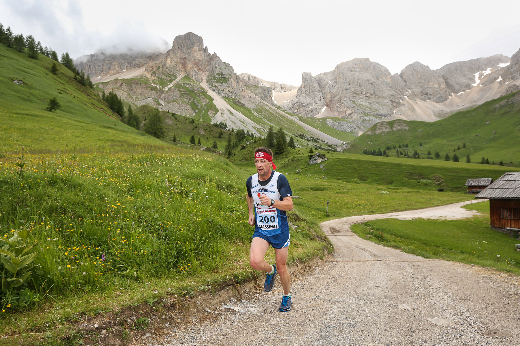 Day 2 - Galliano in azione alla Val di Fassa Running 2018