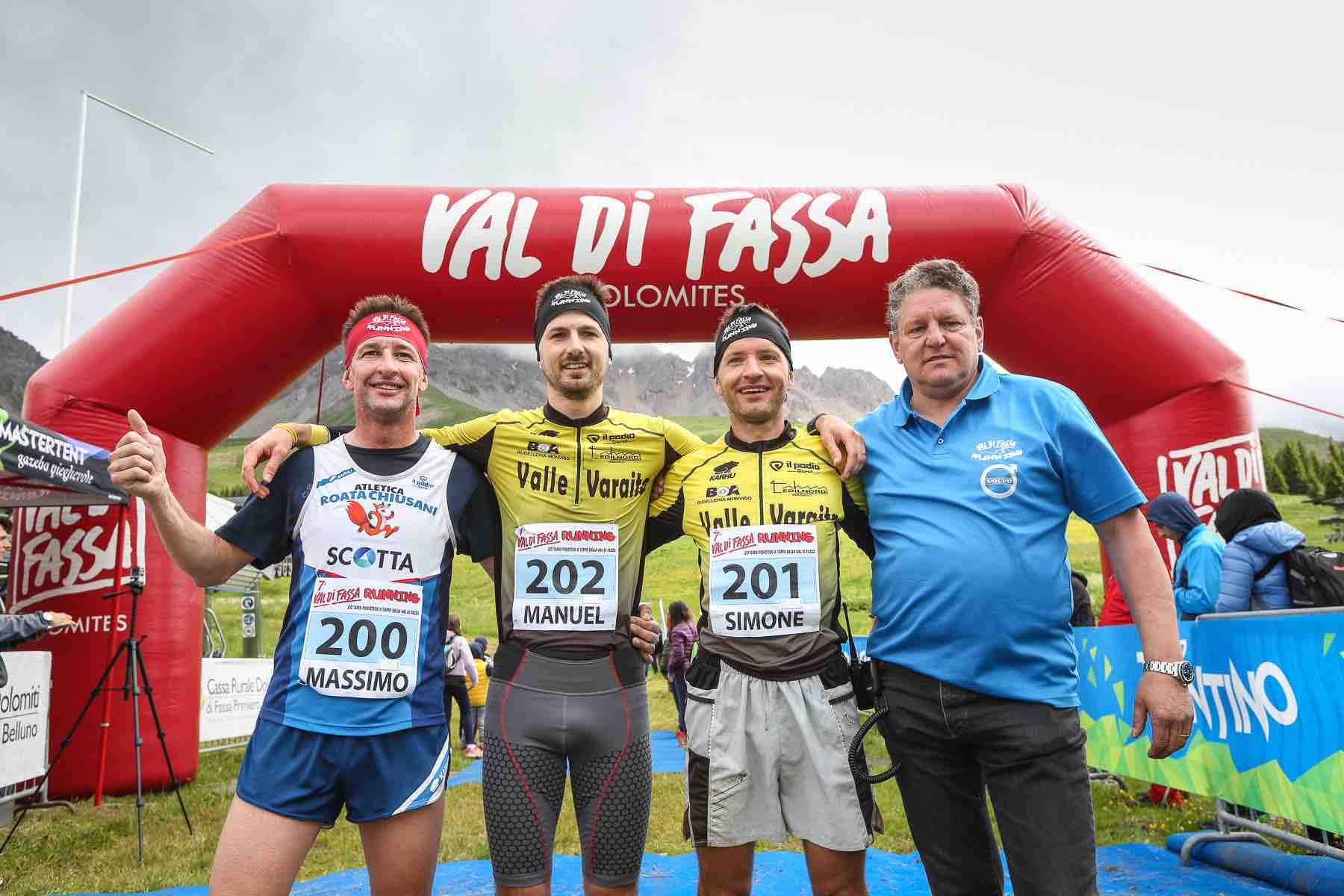 Day 2 - Podio Maschile Val di Fassa Running 2018