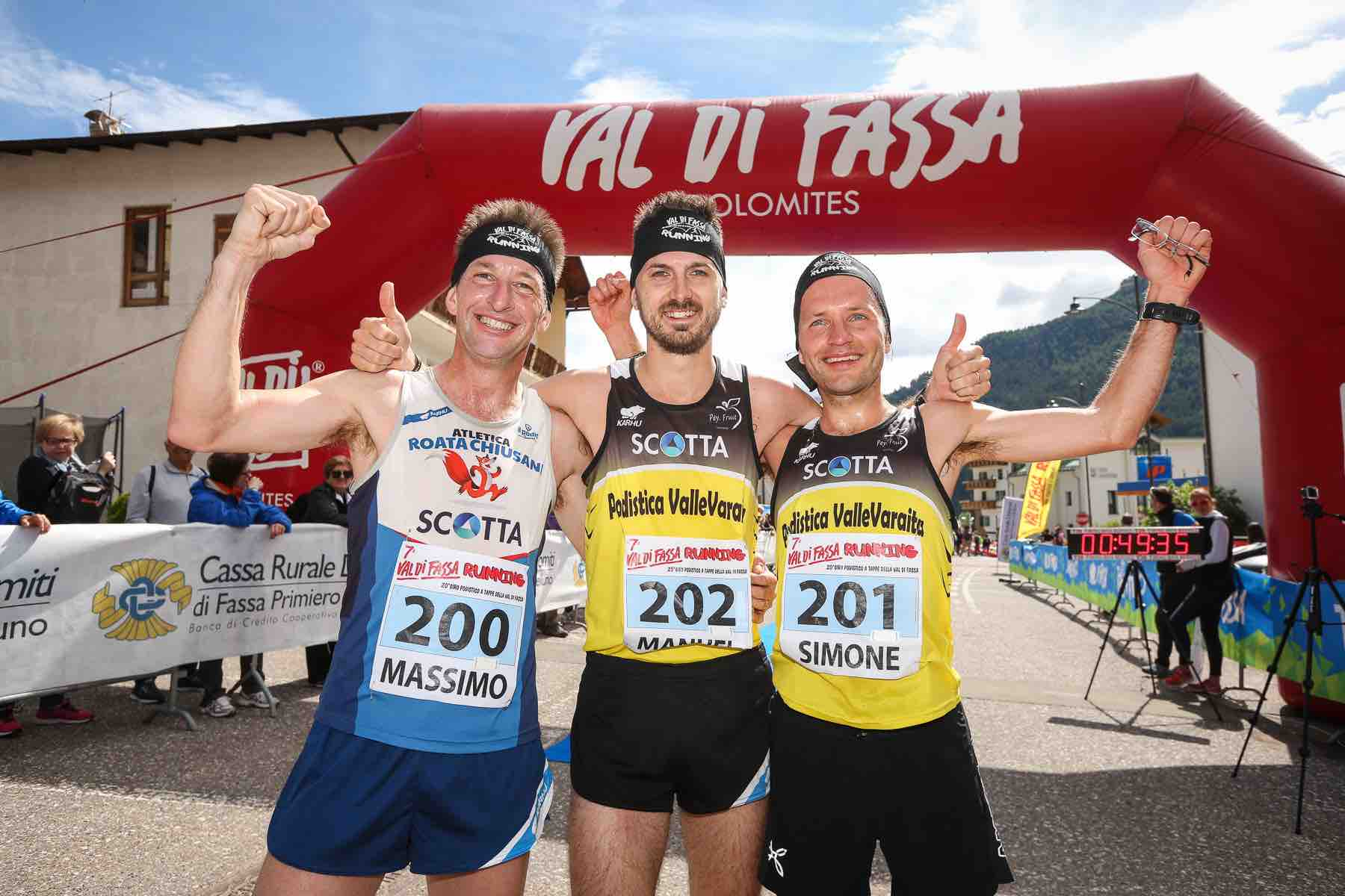 Day 5 - Podio maschile Val di Fassa Running 2018