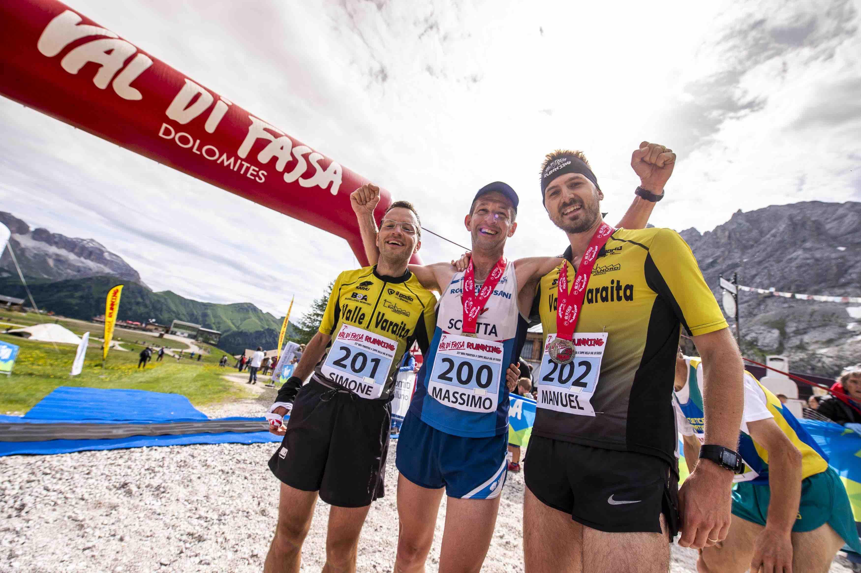 Day 6 - Podio maschile finale Val di Fassa Running 2018