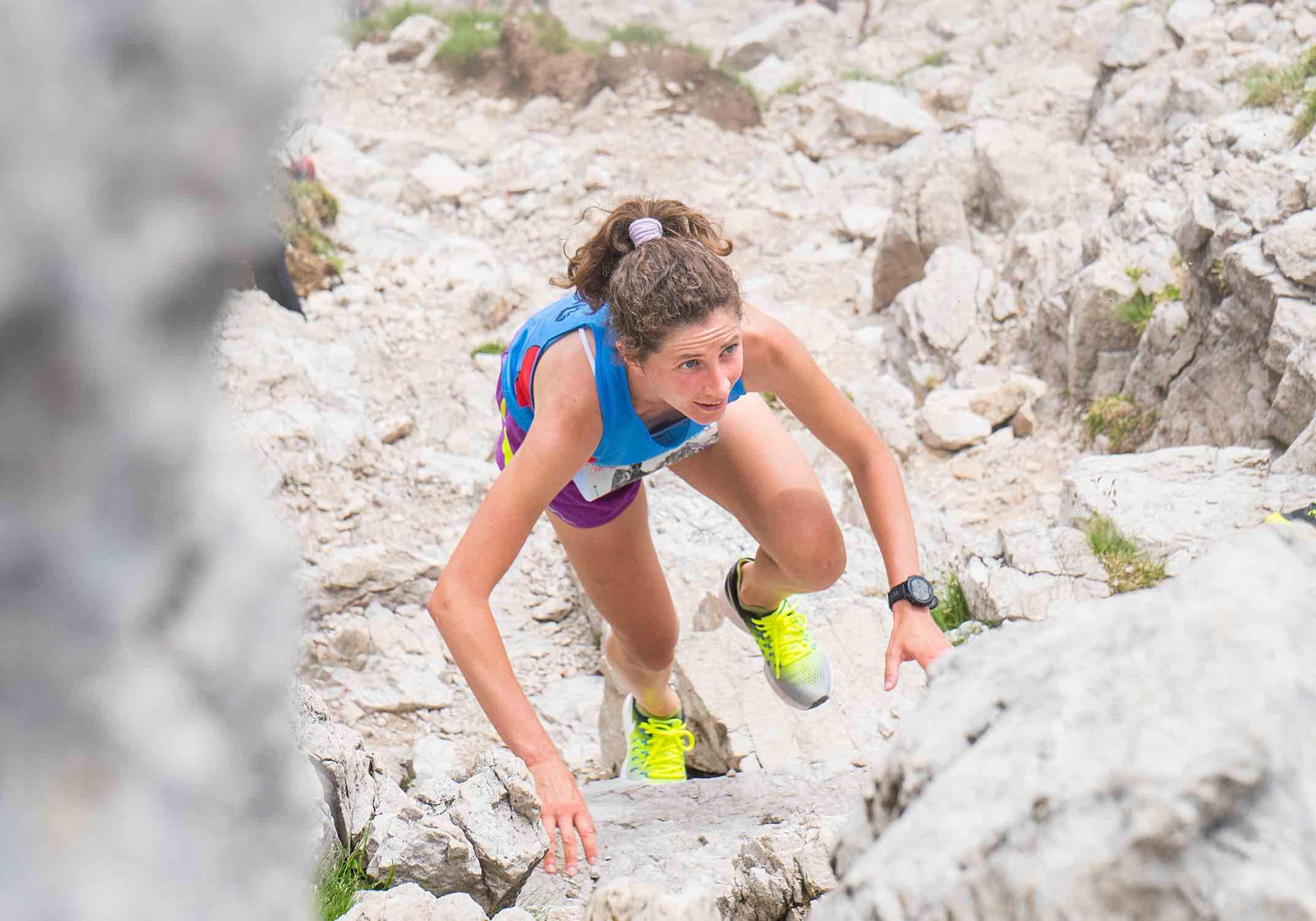 Grignetta Vertical: la vincitrice Silvia Cuminetti