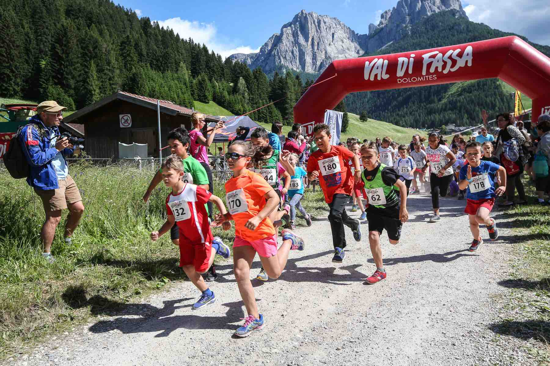 Mini Running Kids - Val di Fassa Running 2018