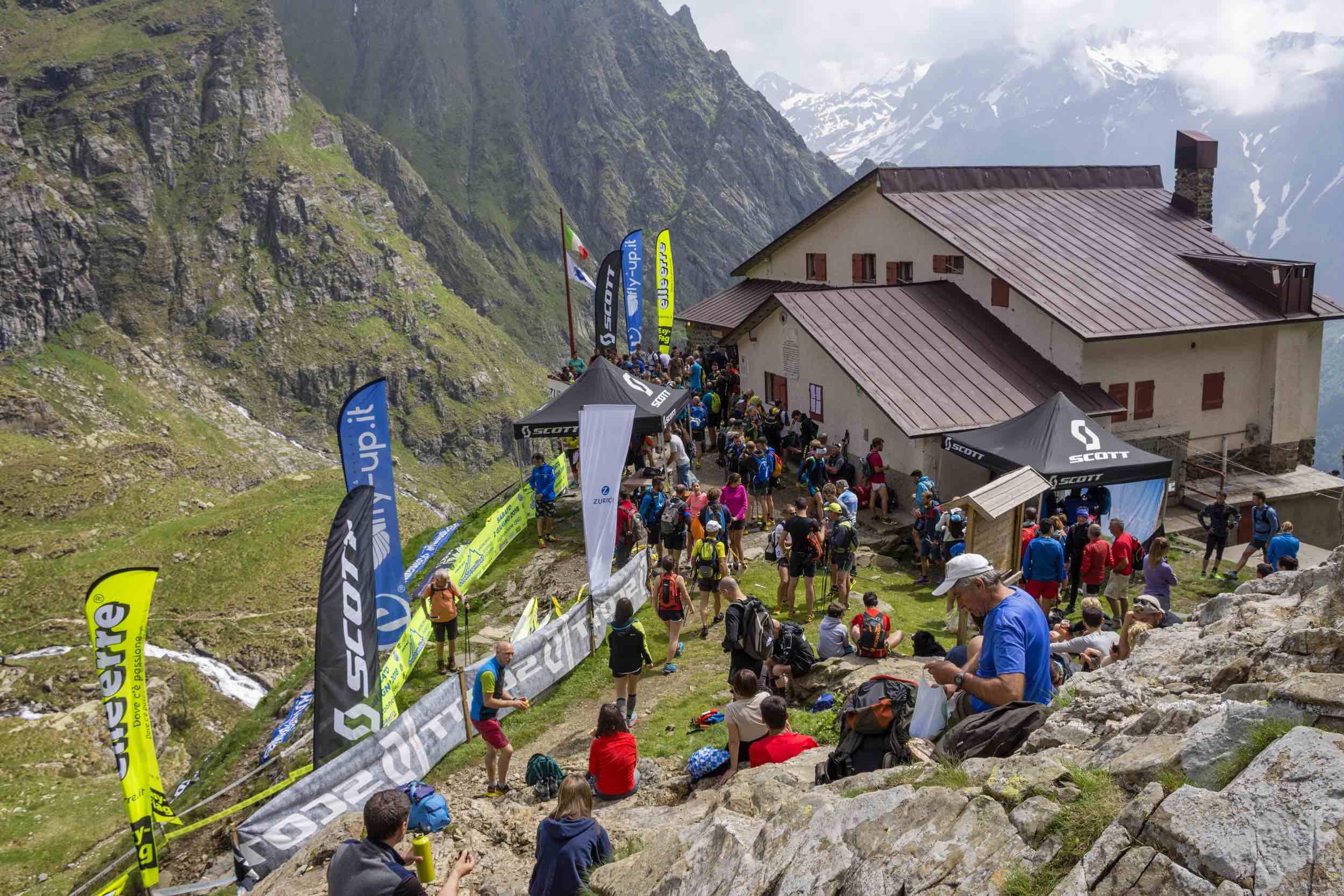 Orobie Vertical 2018, il rifugio Mario Merelli al Coca, arrivo della gara (photo credit: Cristian RIVA)