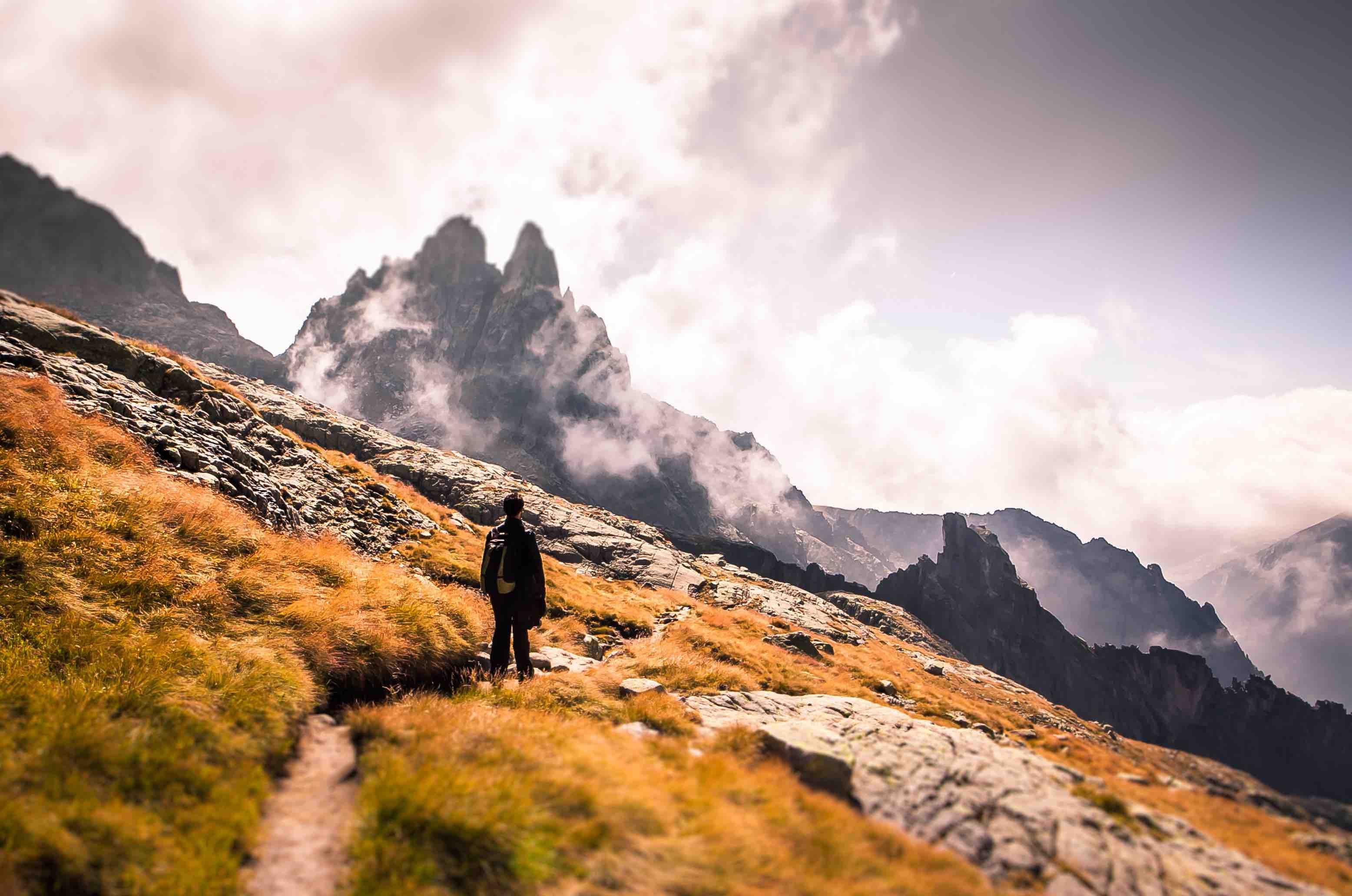 Panorama sentiero cime creste - StoryTravelers