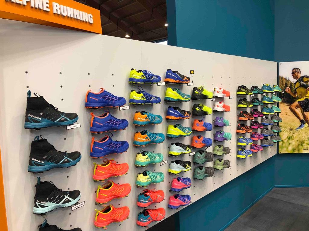 Scarpa collezione alpine running
