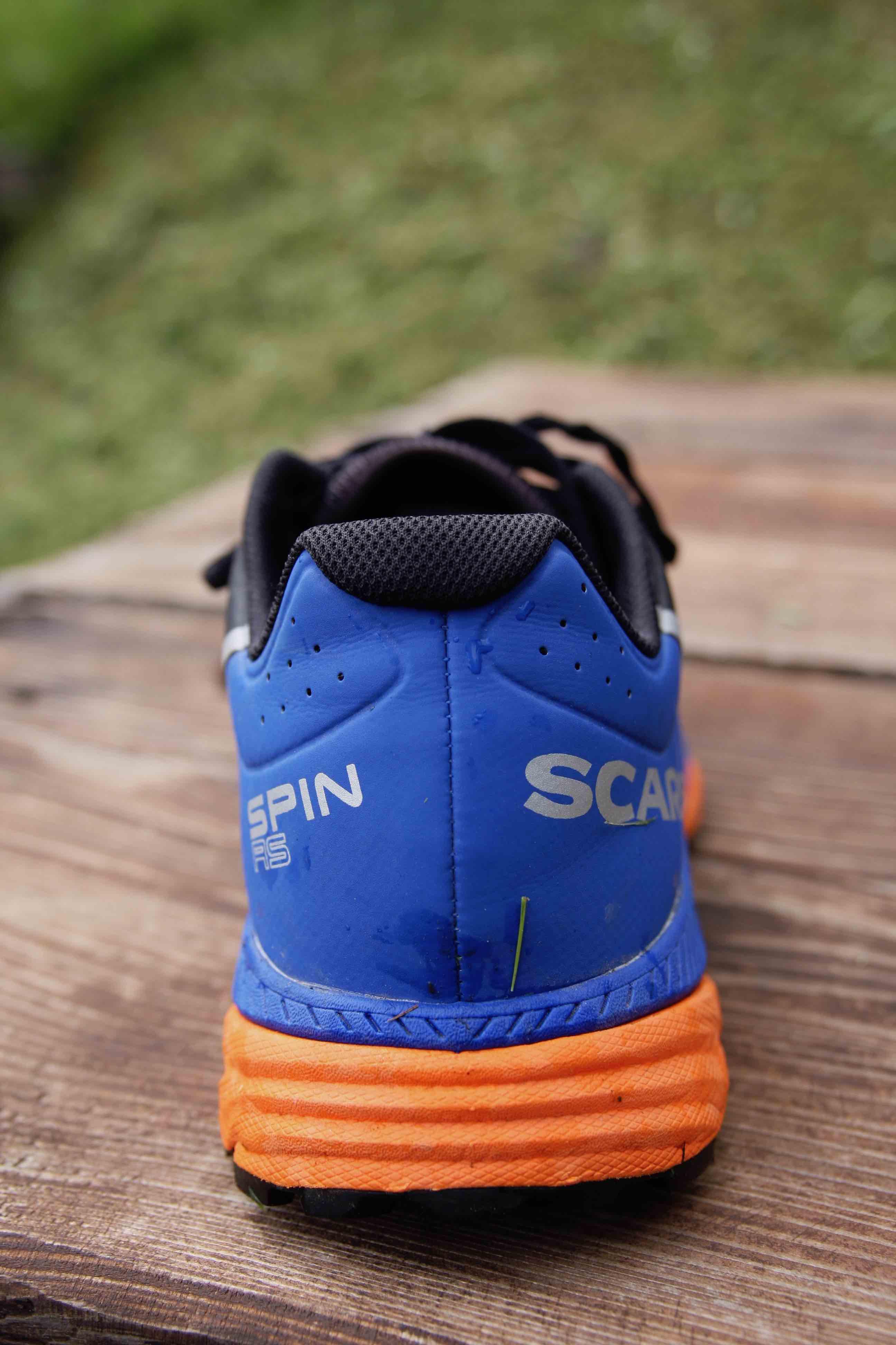 particolare drop Scarpa Spin RS 2018