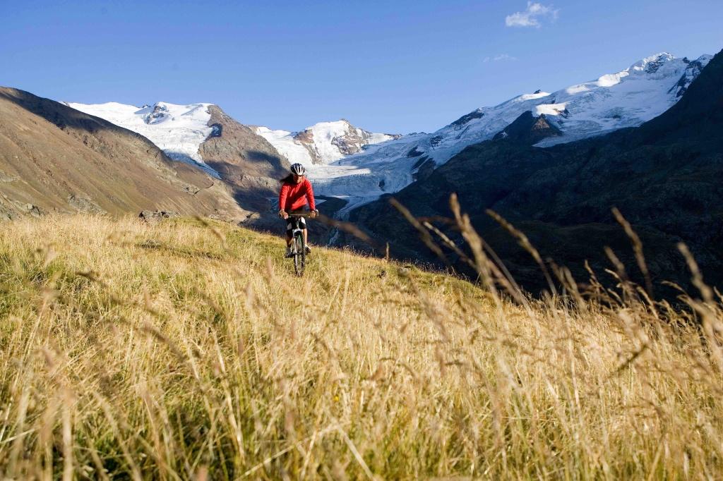 Ghiacciao Forni e mountainbike a Bormio