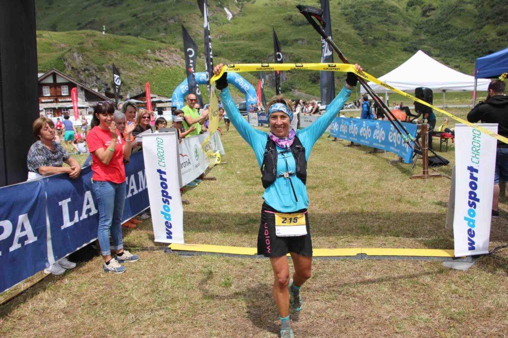 Francesca Canepa, prima nella BUT Formazza 2018 52 km