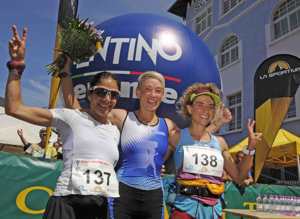 Stava Mountain Race - podio femminile 2018