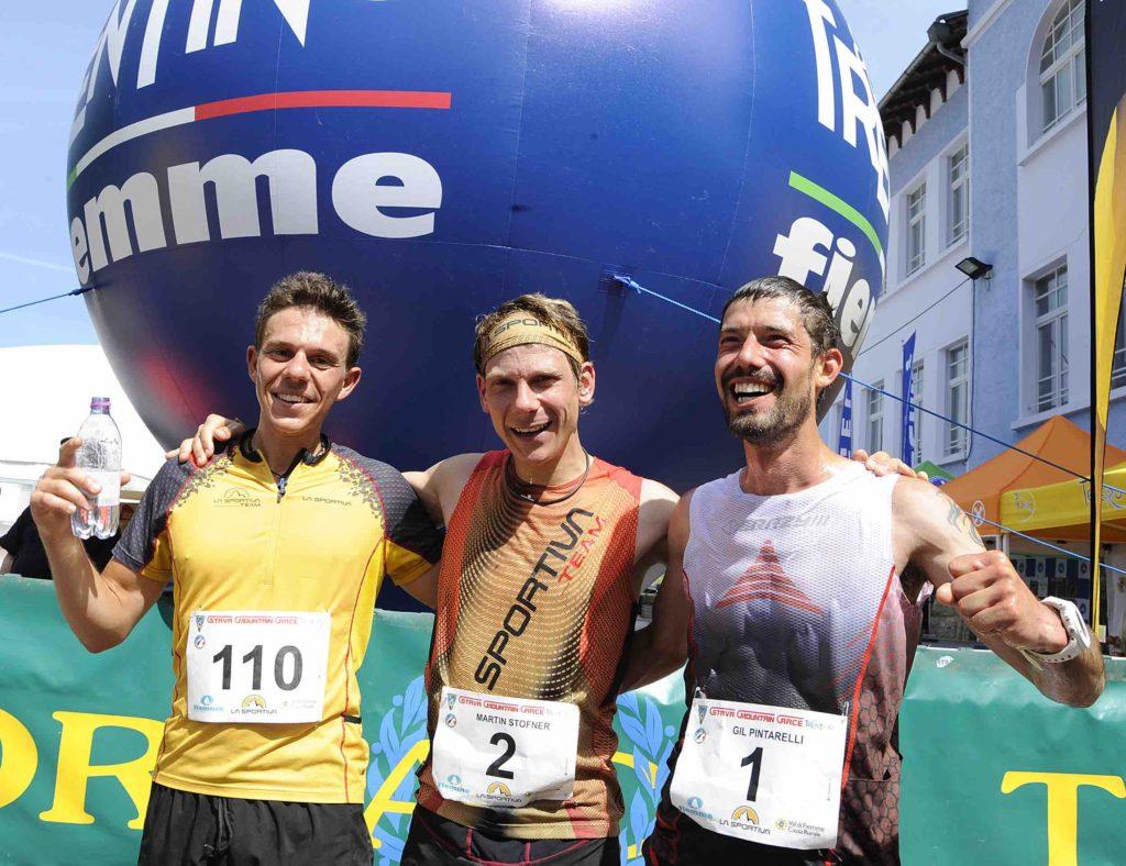 Stava Mountain Race - podio maschile 2018