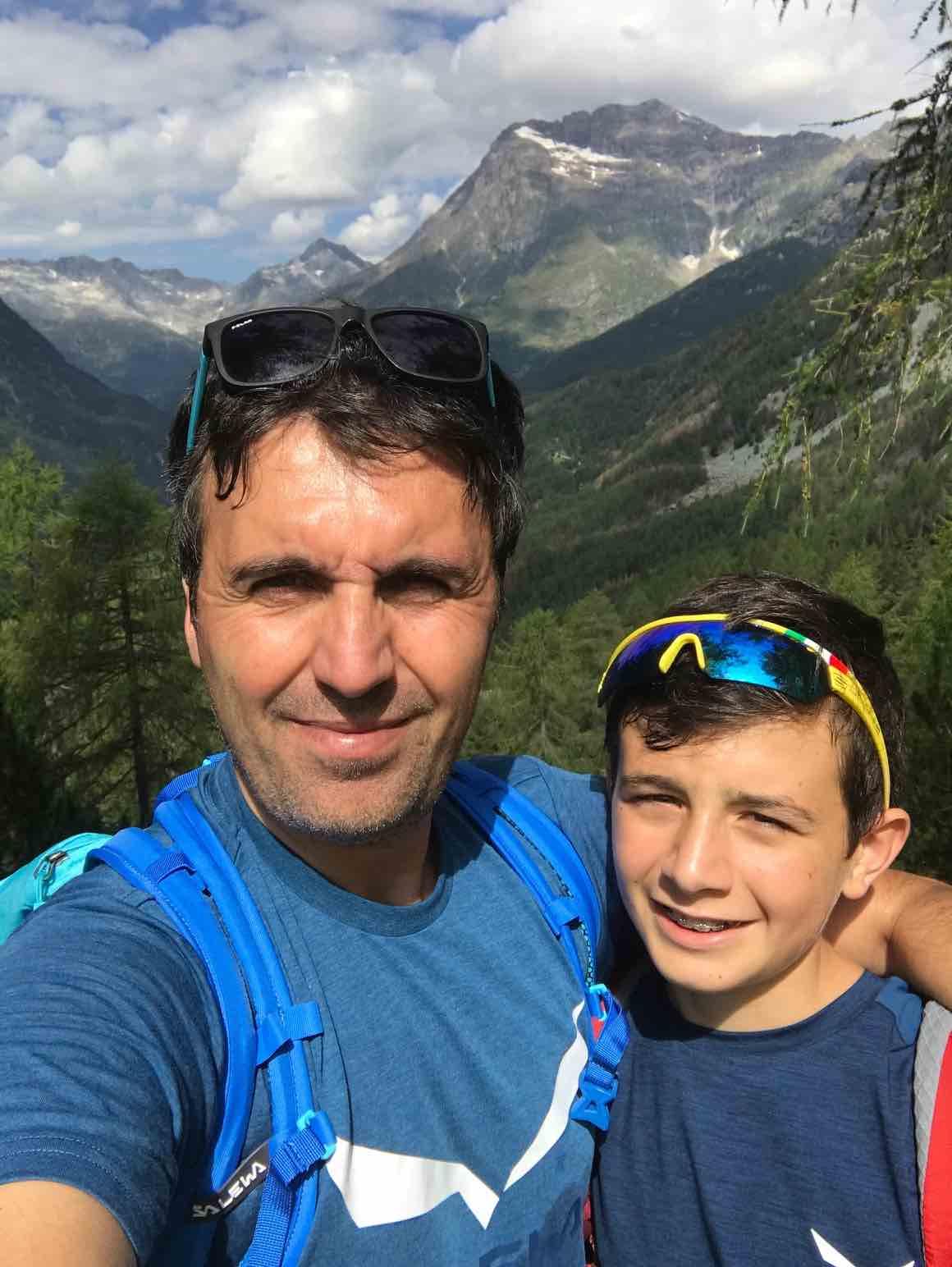 Con Salewa verso Il lago Palù in Valmalenco