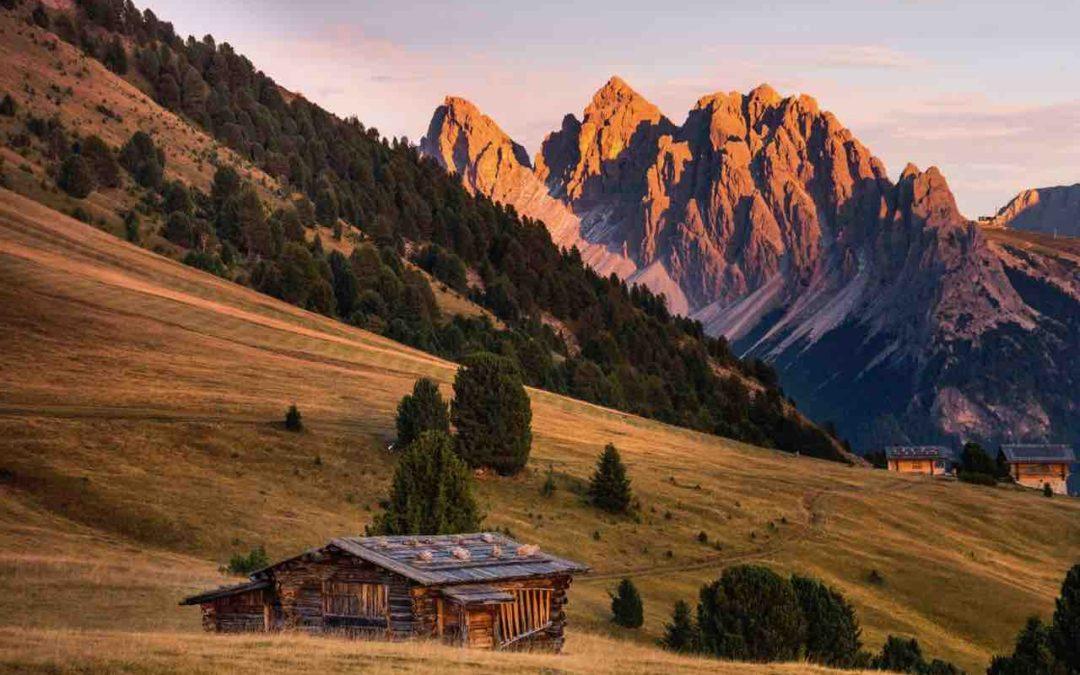 Tramonto in Val Gardena: escursioni autunnali