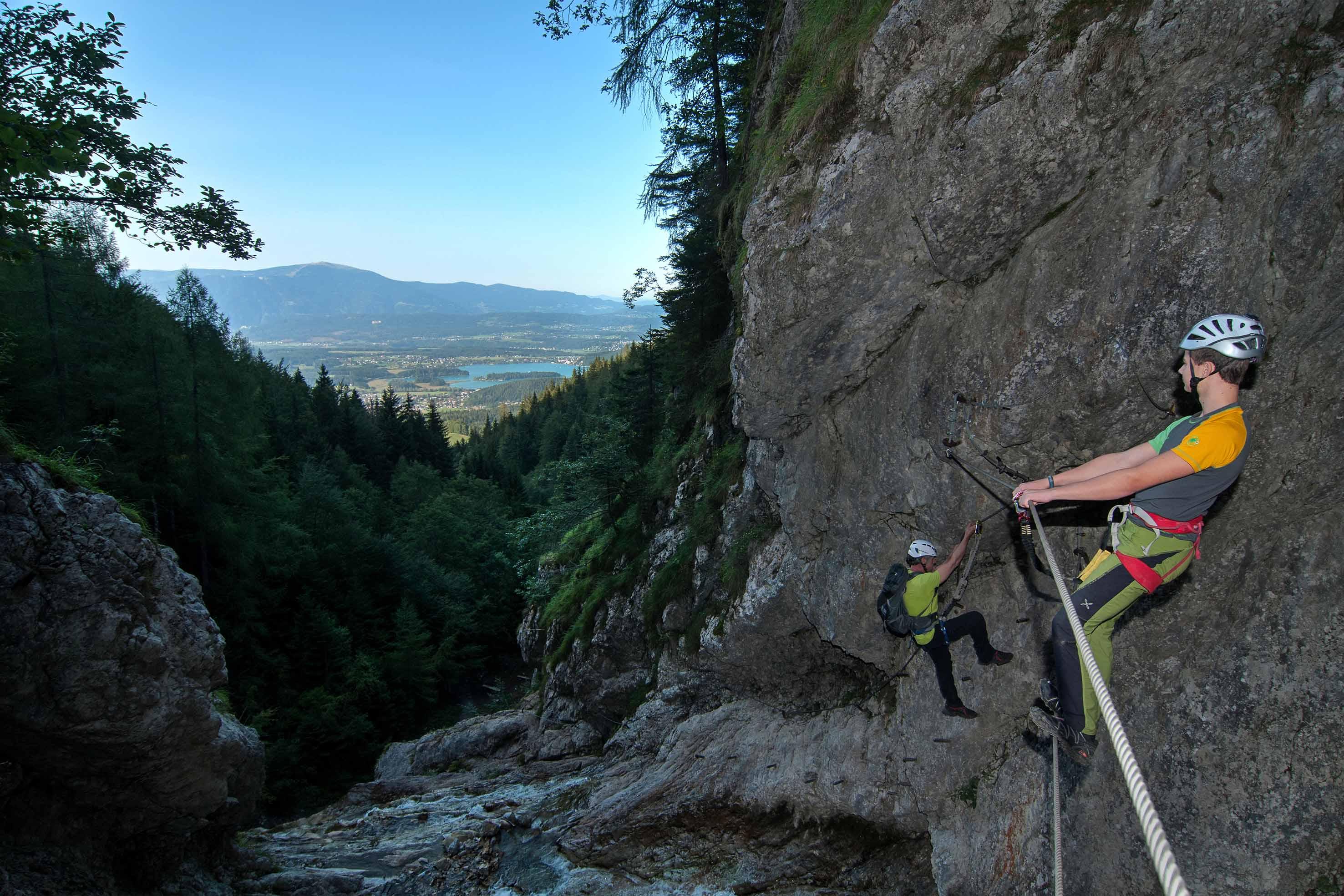 Copyright_Region-Villach-Tourismus_Adrian-Hipp_Klettern-Rotschitza-Klamm