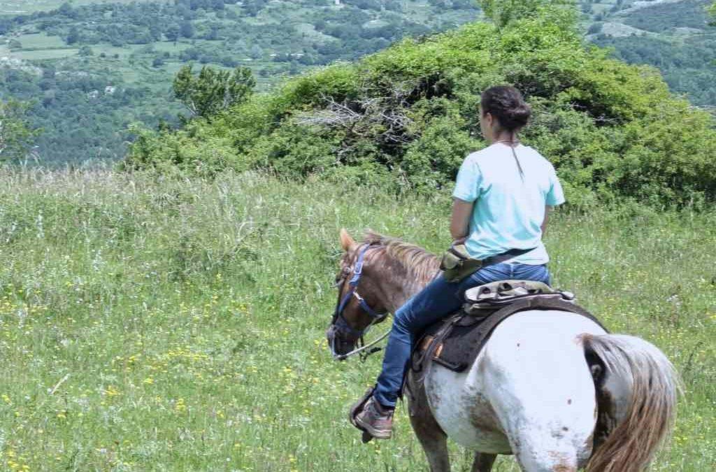 Equitazione sul Monte Amiata: agriturismo Il Cornacchino