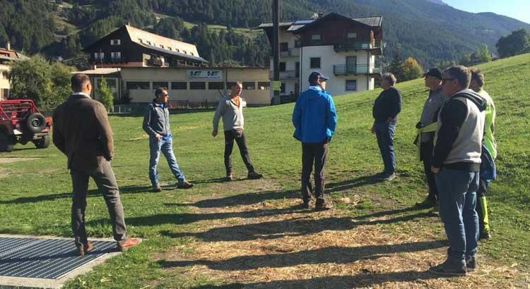 Bormio: ispezione FIS sulla pista Stelvio