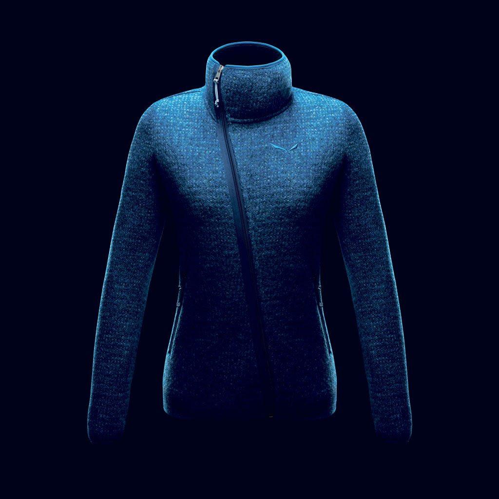 Salewa, giacca Corda in lana lavorazione Sarner, modello donna - euro 240,00