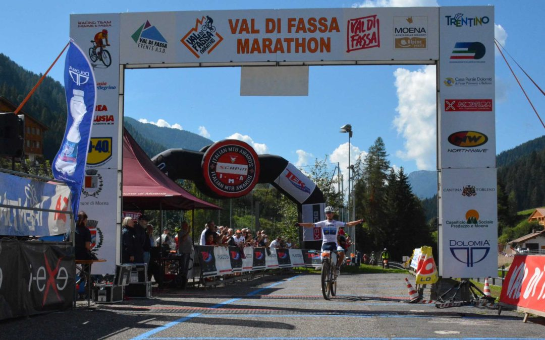 Classifiche Val di Fassa Marathon: grande mountain bike tra le Dolomiti