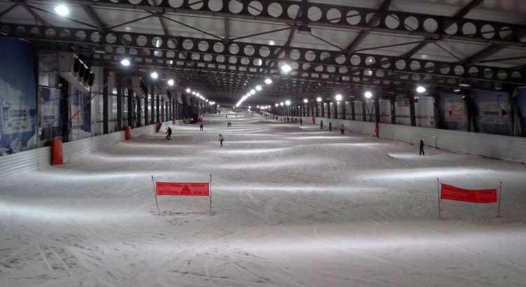 Coppa del Mondo di slalom: gli italiani si allenano ad Amneville