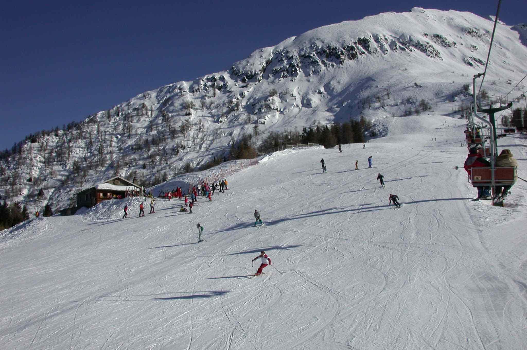 Aprica, piste da sci