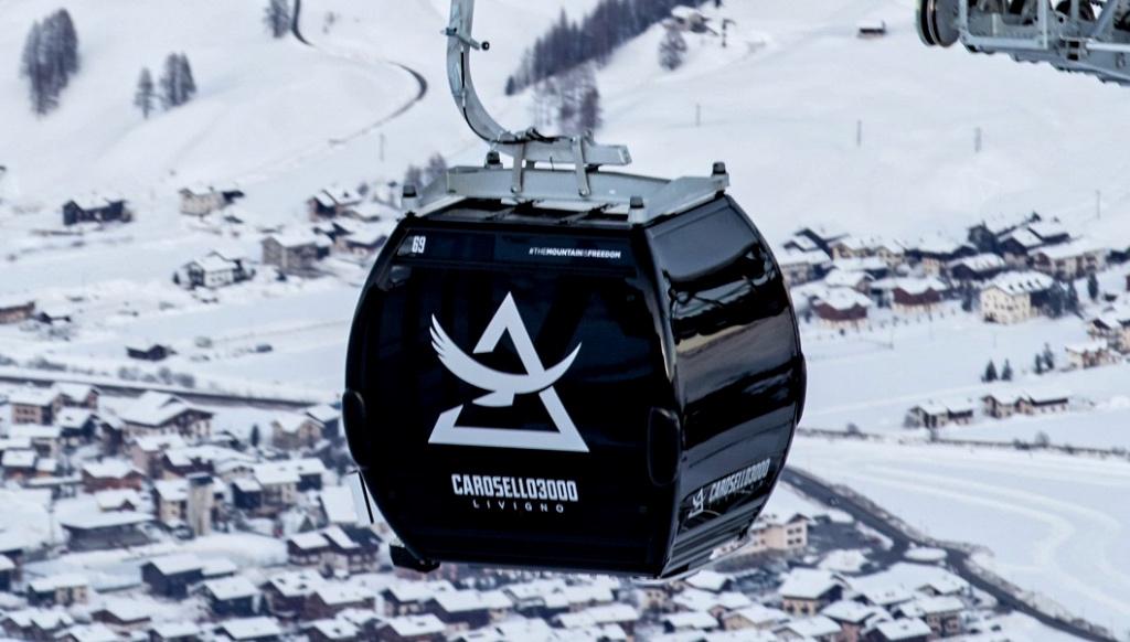 La nuova cabinovia Carosello 3000 di Livigno