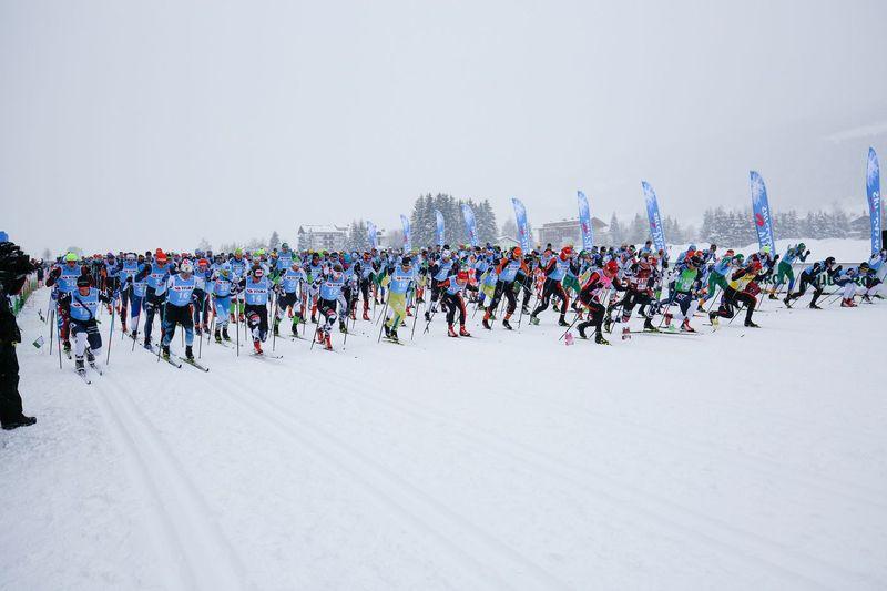 Granfondo Dobbiaco Cortina: sci di fondo tra le Dolomiti