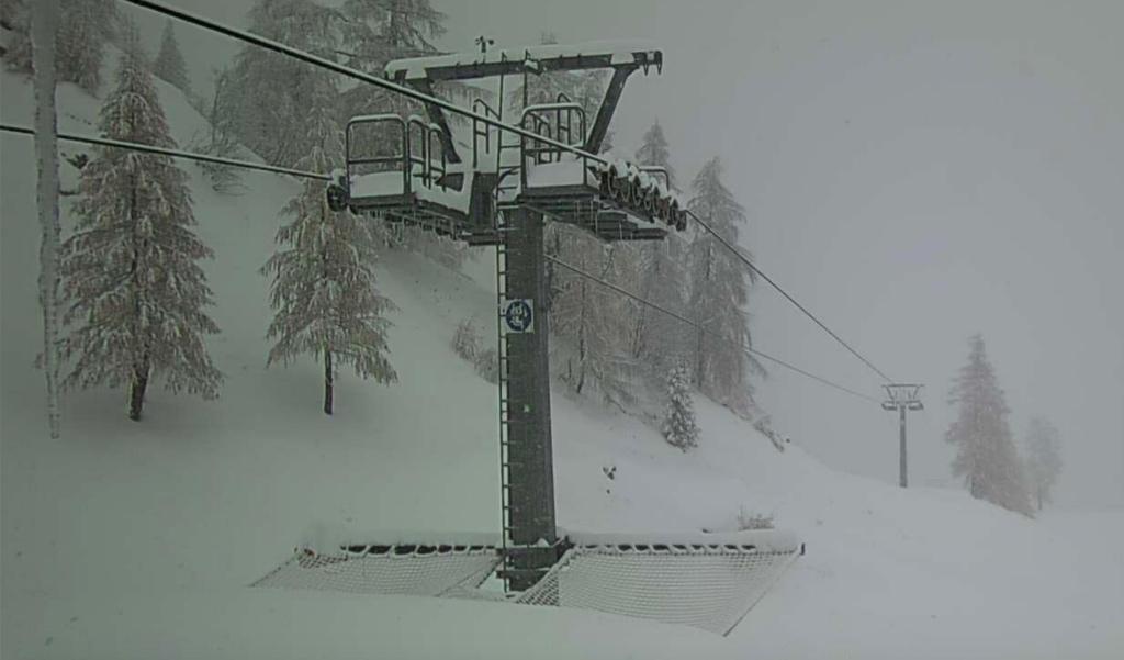 Neve in Ossola: verso i 2 metri al Monte Moro. Fotografie dalle montagne