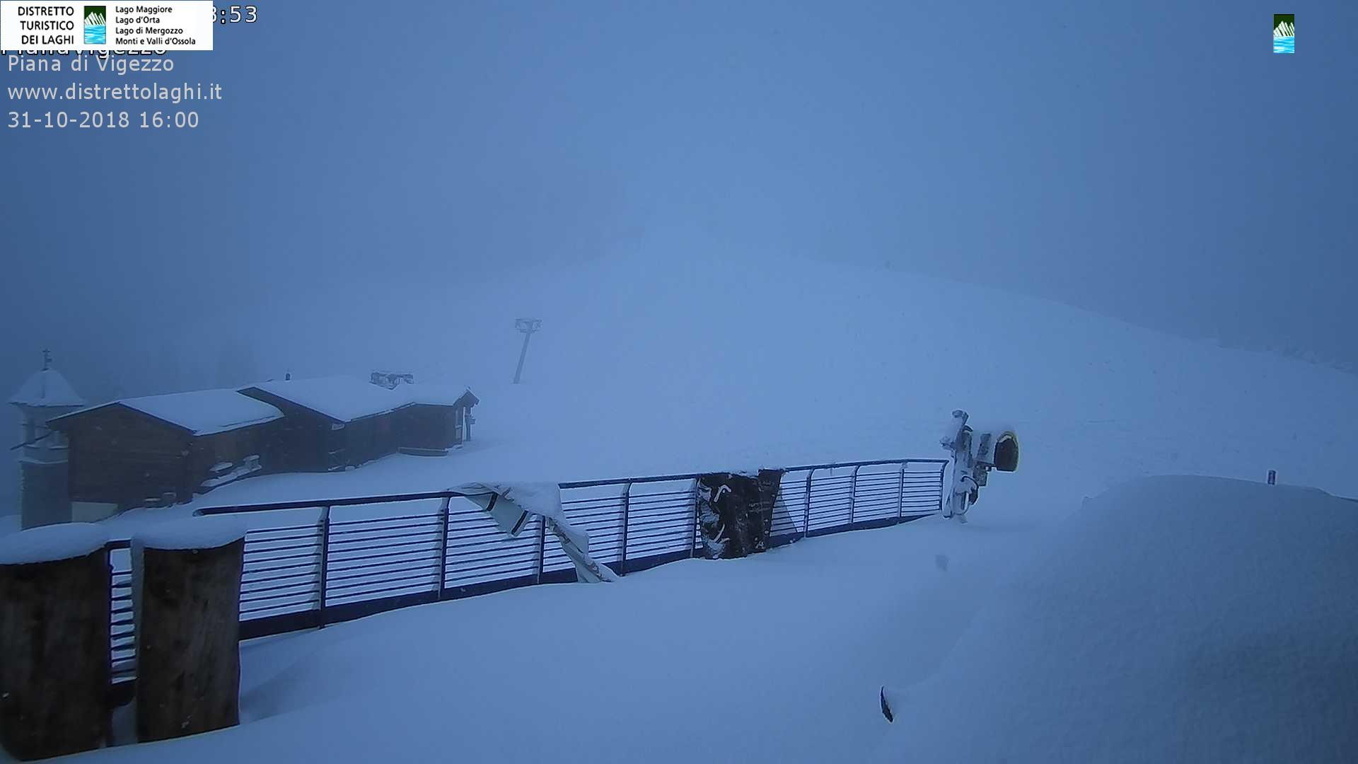 neve piana di Vigezzo