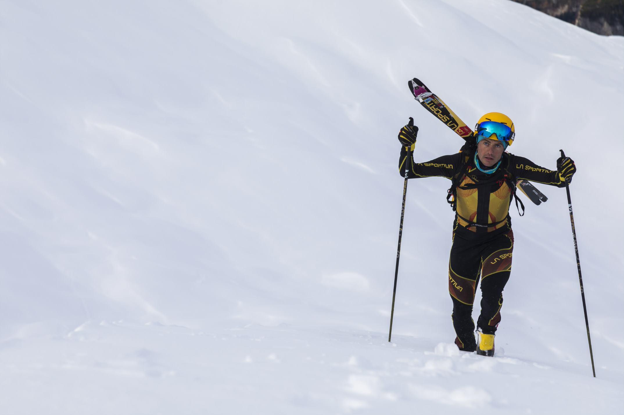 Michele Boscacci sci alpinista