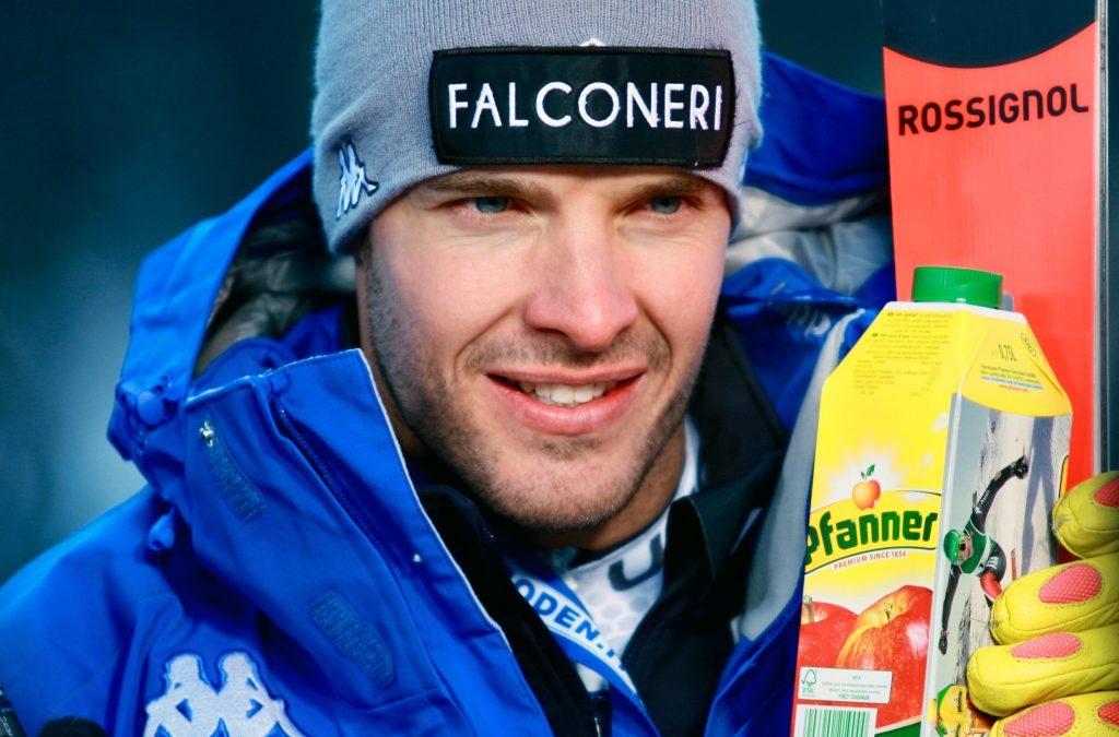 Christof Innerhofer rientra in gara in Val Gardena