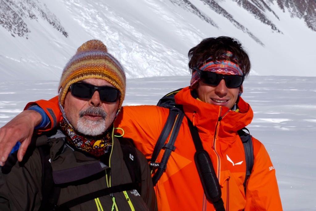 Francois Cazzanelli, spedizione sul Monte Vinson con l'imprenditore di Canelli, Sergio Cirio