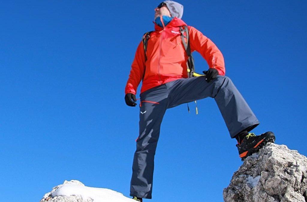 Salewa Sesvenna pantaloni per scialpinismo e attività nella neve