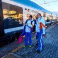 A sciare in Valtellina con i treni della neve di Trenord