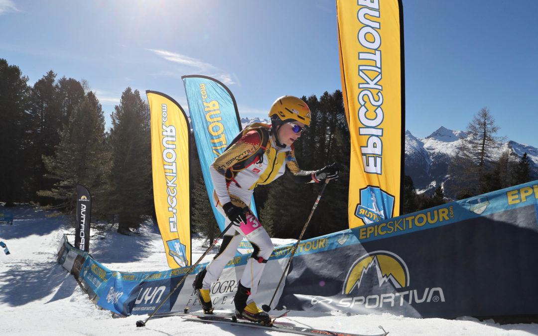 Classifica Epic Ski Tour: vittoria a Michele Boscacci e Axelle Gachet-Mollaret