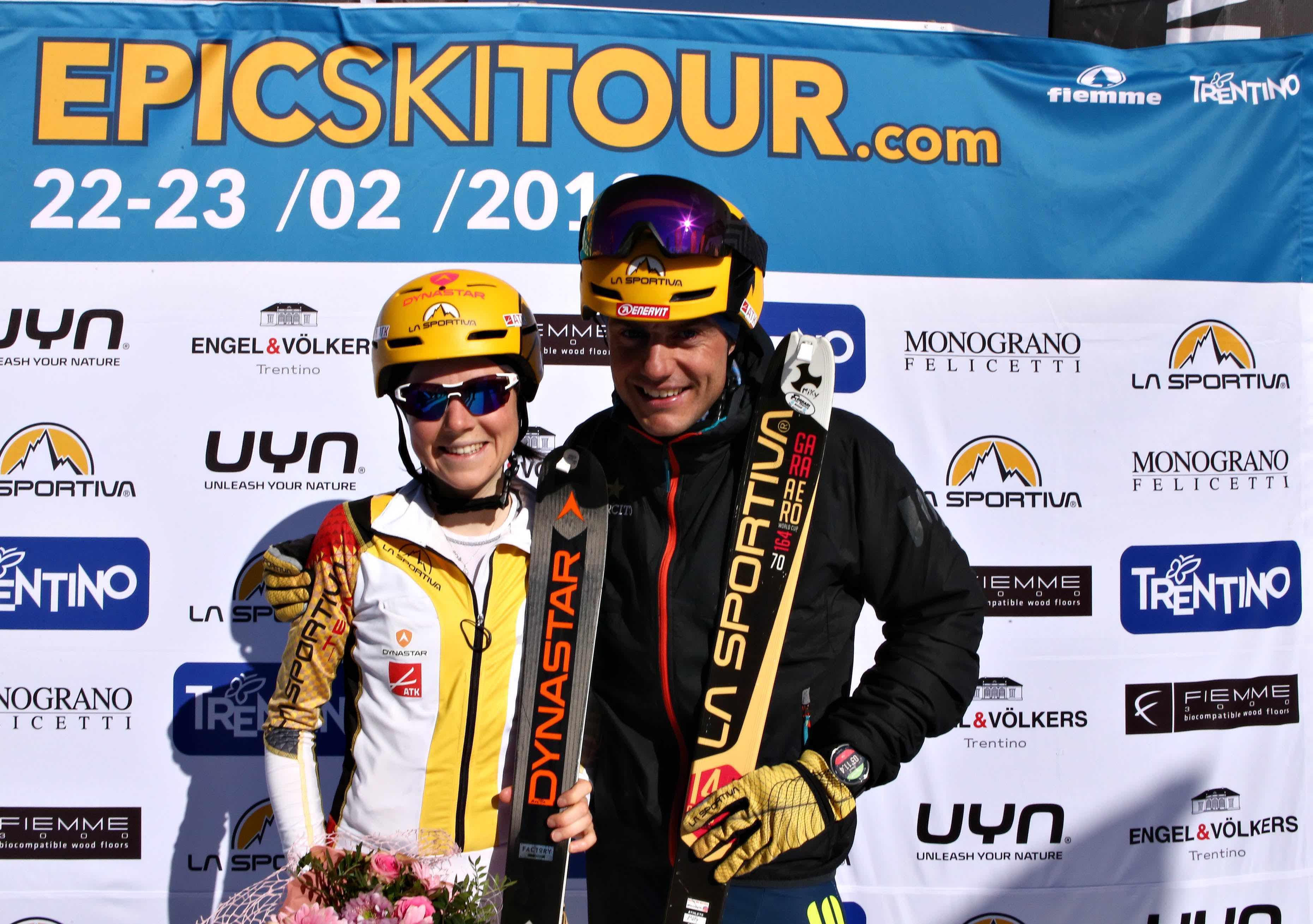 Epic Ski Tour 2019: i vincitori Mollaret e Boscacci