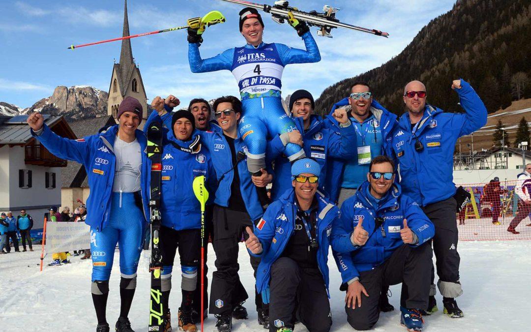 Alex Vinatzer è campione del Mondo di slalom speciale: intervista, classifiche, foto e cronaca
