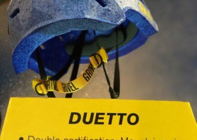 Casco Grivel DUETTO Ispo 2019