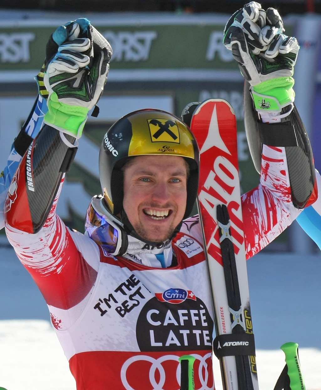 Marcel Hirscher Campione del Mondo di sci