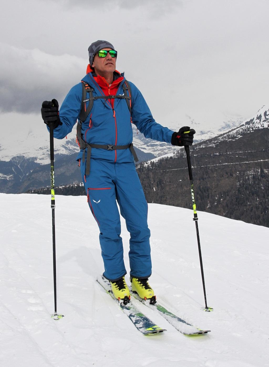 Scialpinismo a Rothwald, Vallese, Svizzera