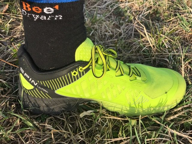 Test scarpe Spin Ultra
