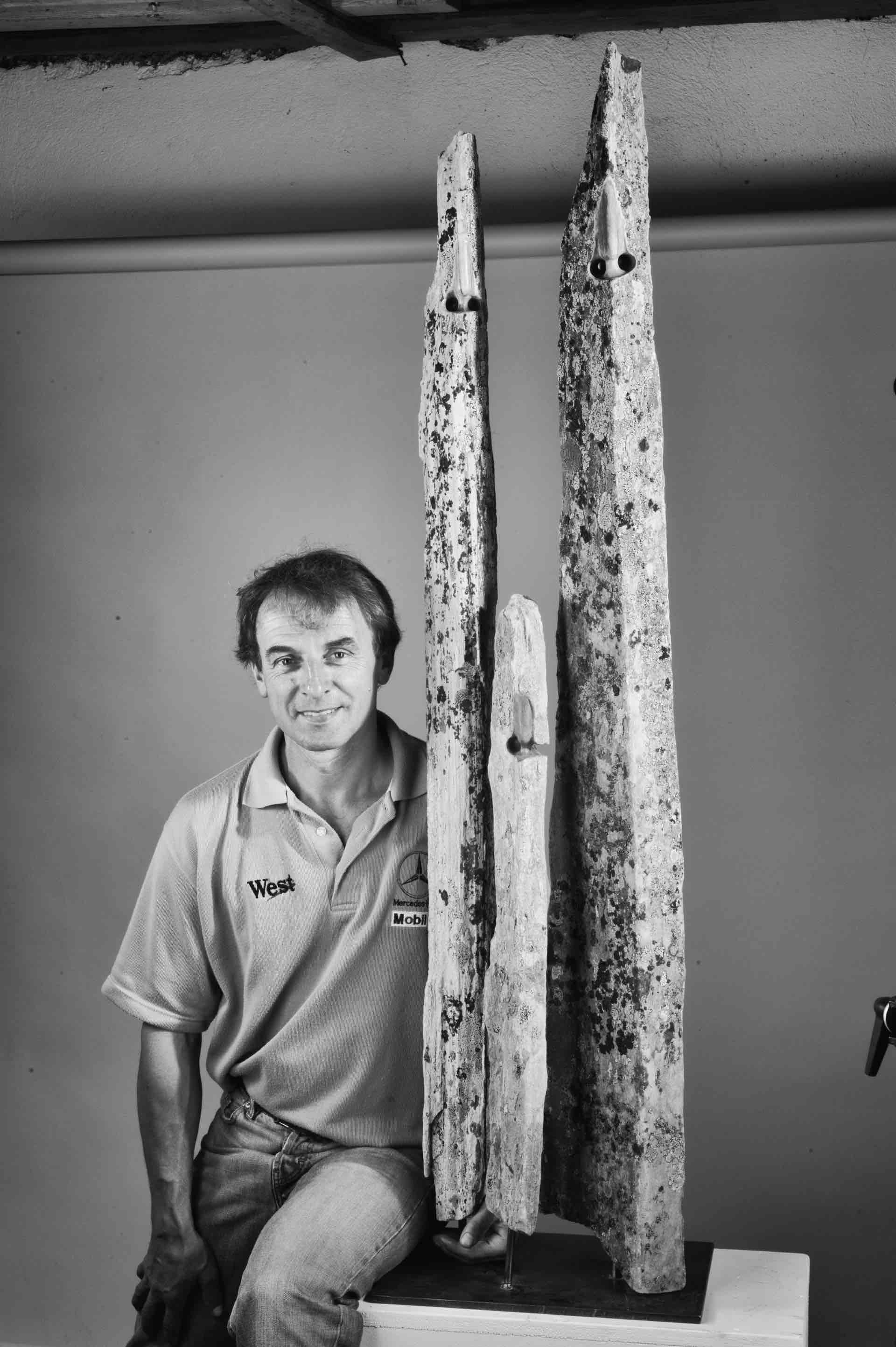 Donato Savin in mostra a Trento