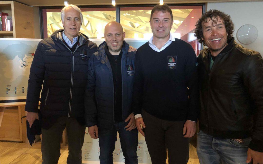 Olimpiadi 2026: delegazione del CIO a Livigno